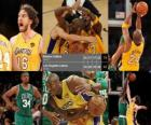 Final NBA 2009-10, 7º Partido, Boston Celtics 79 - Los Angeles Lakers 83