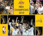 NBA Champions 2010 - Los Angeles Lakers -