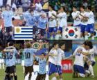 Uruguay - Corea del Sur, Octavos de final, Sudáfrica 2010