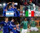 Argentina - México, Octavos de final, Sudáfrica 2010