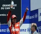 Fernando Alonso - Ferrari -  Montreal, 2010 (3er Clasificado)