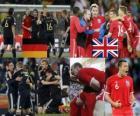 Alemania - Inglaterra, Octavos de final, Sudáfrica 2010
