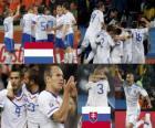 Holanda - Eslovaquia, Octavos de final, Sudáfrica 2010