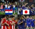 Paraguay - Japón, Octavos de final, Sudáfrica 2010