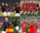 España - Portugal, octavos de final, Súdafrica 2010