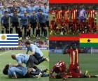 Uruguay - Ghana, cuartos de final, Súdafrica 2010