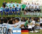 Argentina - Alemania, cuartos de final, Súdafrica 2010