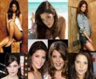 Ashley Greene conocida por su papel de Alice Cullen en la saga Crepúsculo.