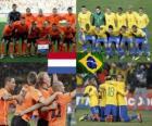 Holanda - Brasil, cuartos de final, Súdafrica 2010