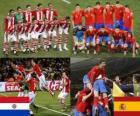 Paraguay - España, cuartos de final, Súdafrica 2010