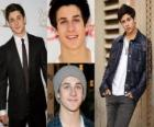 David Henrie es más bien conocido por su papel de Larry en That's So Raven, y Justin Russo en Los magos de Waverly Place.
