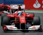Fernando Alonso - Ferrari - Valencia 2010