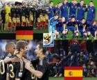 Alemania - España, semifinales, Súdafrica 2010
