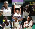 Selena Williams Campeona Wimbledon 2010