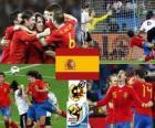 España finalista Sudáfrica 2010