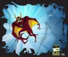 JetRay es un alien aerofibio capaz de volar y nadar más rápido que la velocidad del sonido