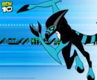 El alien XLR8 es la primera transformación de Ben 10 con el Omnitrix