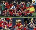 España, Campeón de la Copa del Mundo de fútbol de Sudáfrica 2010