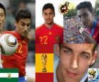 Jesús Navas (el pajarillo loco y el nervio de la selección) delantero Selección Española