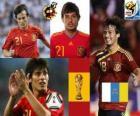 David Silva (el arte y el amago) mediocampista, Selección Española