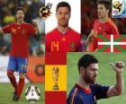 Xabi Alonso (El pulmón) mediocampista Selección Española