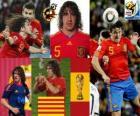Carles Puyol (La cabeza de España) defensa Selección Española