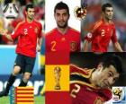 Raúl Albiol (se mata por un pin) defensa Selección Española