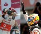 Lewis Hamilton - McLaren - Silverstone 2010 (2º Clasificado)