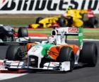 Adrian Sutil - Force India - Silverstone 2010