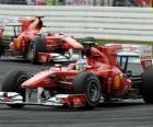 Fernando Alonso, Felipe Massa, Hockenheim, Gran Premio de Alemania (2010)