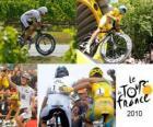 El Tour de Francia 2010: Alberto Contador y Andy Schleck