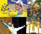 Alberto Contador campeón, del Tour de Francia 2010
