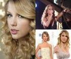 Taylor Swift es una cantante y compositora estadounidense de música country.