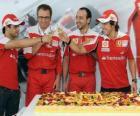 29 Aniversario de Fernando Alonso en el Gran Premio de Hungría 2010