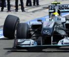 Nico Rosberg - Mercedes - Hungaroring, Gran Premio de Hungría 2010