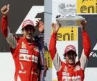 Fernando Alonso - Ferrari - Hungaroring, Gran Premio de Hungría (2010) (2º Clasificado)