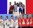 Campeónes 4x100m, Londres 2012