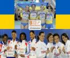 Campeonas 4x100m, Barcelona 2010