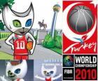 Bascat mascota del Campeonato Mundial de Baloncesto de Turquía 2010