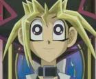 Yugi Muto o Yugi Moto es el niño protagonista de las primeras aventuras de Yu-gi-oh!