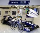 2010 Spa-Francorchamps: Rubens Barrichello celebració carrera 300