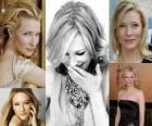 Cate Blanchett es una actriz de cine y teatro australiana, ganadora de los premios Óscar y Globo de Oro.