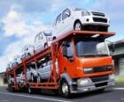 Camión de transporte de coches