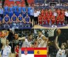 Serbia - España, quartos de final, Campeonato Mundial FIBA 2010 Turquia