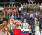 Turquia - Eslovenia, quartos de final, Campeonato Mundial FIBA 2010 en Turquia