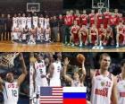 Estados Unidos - Rusia, quartos de final, Campeonato Mundial FIBA 2010 en Turquia