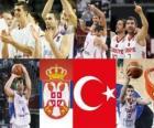 Serbia - Turquia, semifinales, Mundial FIBA 2010 en Turquia