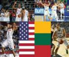 Estados Unidos - Lituania, semifinales, Campeonato Mundial FIBA 2010 en Turquia