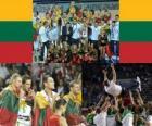 Lituania, 3er Clasificado del Campeonato Mundial FIBA 2010 en Turquia