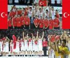 Turquia 2º Clasificado del Campeonato Mundial FIBA 2010 en Turquia